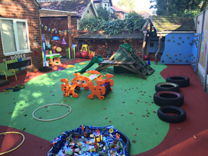 Harcourt Day Nursery - Outdoors